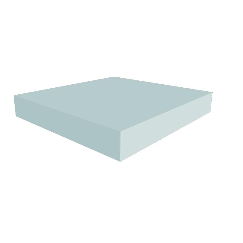 Cuadrangular nocota for Espuma a medida para palets