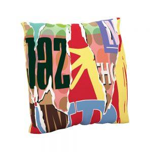 Cojín estampado Retail | Cojines decorativos vintage personalizados con telas estampadas | Disponibles en todos tipos de telas: telas lisas, telas estampadas, telas vintage y telas para exterior impermeables.