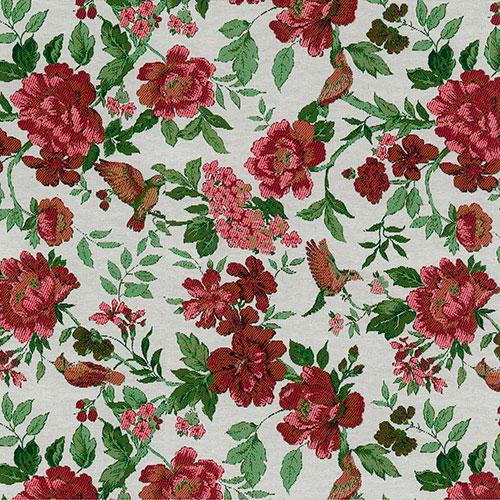 Telas artesanales cosidas a mano diseño Colibri 40 | Telas online para interiores Jacquard de dibujo tejido | Descubre nuestras telas para tapizar de colores exclusivos y estampados únicos.