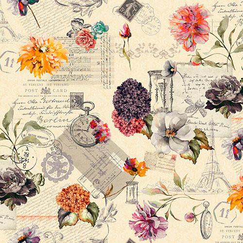 Tela Devora 4 diseño estampado | Telas estampadas online interiores de inspiración vintage | Descubre nuestras telas para tapizar de colores exclusivos y estampados únicos.
