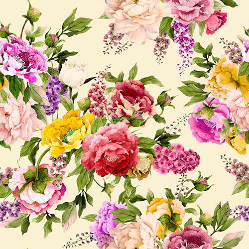 Tela Emily 4 diseño estampado | Telas estampadas online interiores de inspiración vintage | Descubre nuestras telas para tapizar de colores exclusivos y estampados únicos.