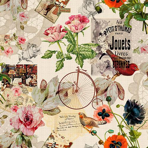 Tela Eugene diseño estampado | Telas estampadas online interiores de inspiración vintage | Descubre nuestras telas para tapizar de colores exclusivos y estampados únicos.