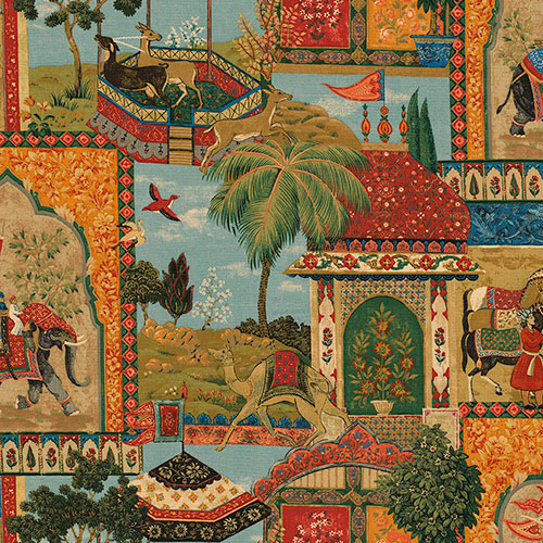 Tela Tapiz diseño estampado | Telas estampadas online interiores de inspiración vintage | Descubre nuestras telas para tapizar de colores exclusivos y estampados únicos.