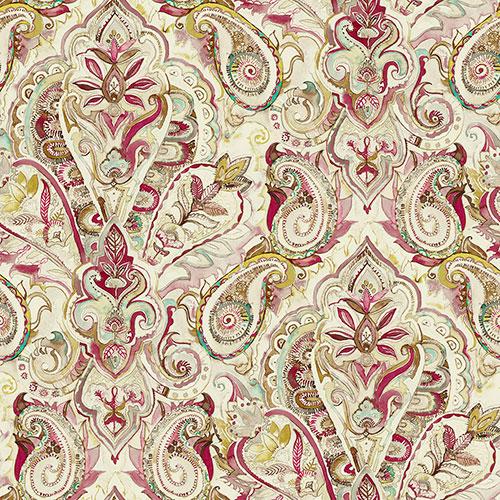 Tela Zulema Col 4 diseño estampado | Telas estampadas online interiores de inspiración vintage | Descubre nuestras telas para tapizar de colores exclusivos y estampados únicos.