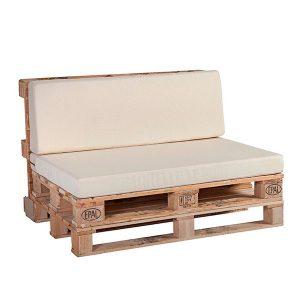Cojines para palets: asiento y respaldo